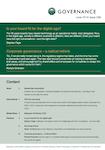 Corporate Governance - a radical rethink by Richard Smerdon